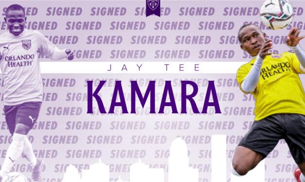 John Thomas Kamara signs first pro deal with Louisville City