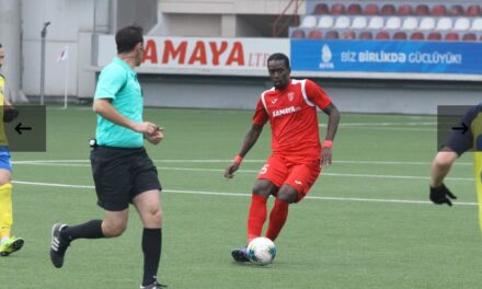 Kamara's Keshla see off Kapaz to reach Cup semifinals