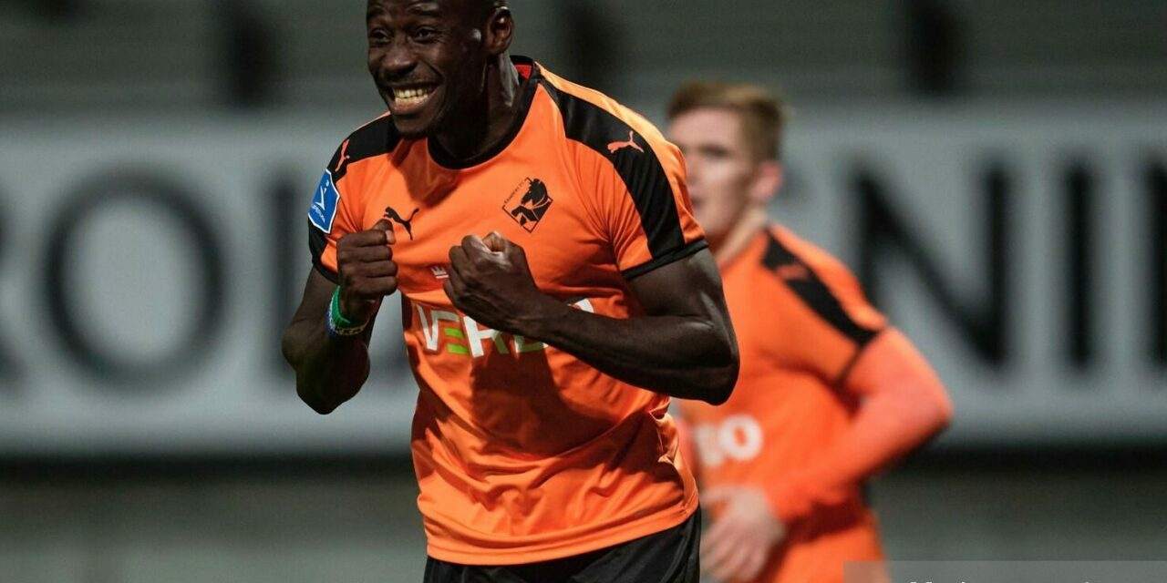 Alhaji Kamara nets 10th of the season in Randers defeat