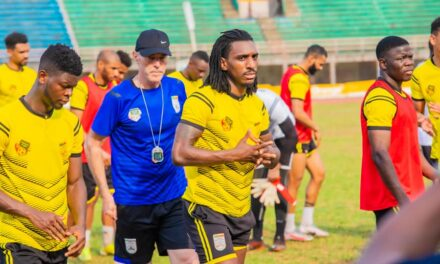 Benin Squirrels wrap up training session in Freetown