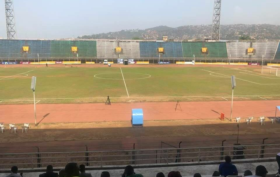 Empty Siaka Steven Stadium