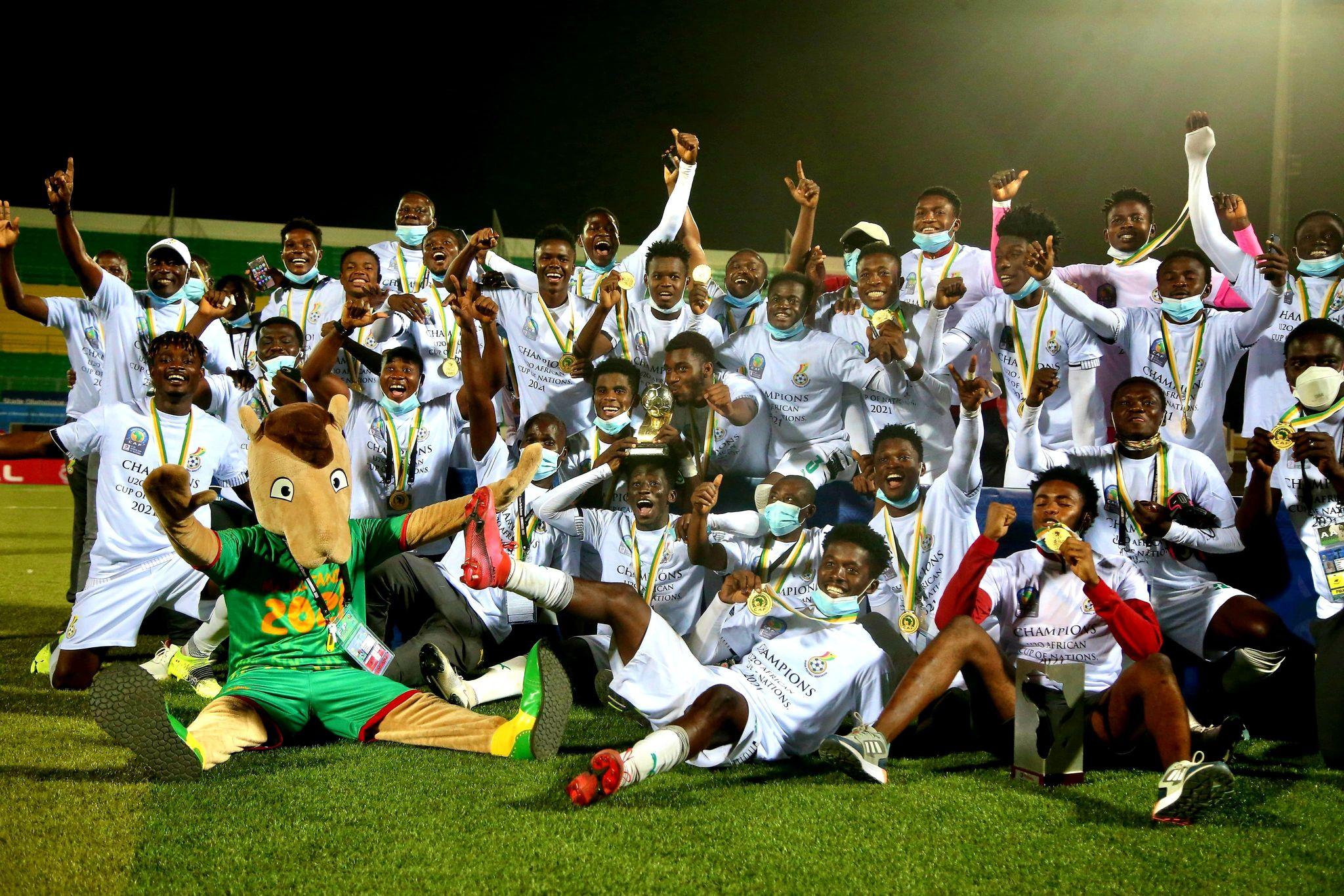Ghana down Uganda to clinch fourth Total AFCON U20 title