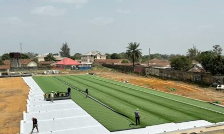 Kenema artificial turf could be ready in two weeks
