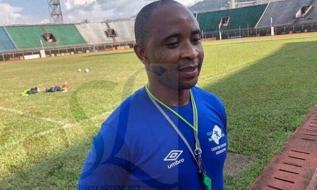 Race to Cameroon, no pressure on us – Lesotho coach Senong