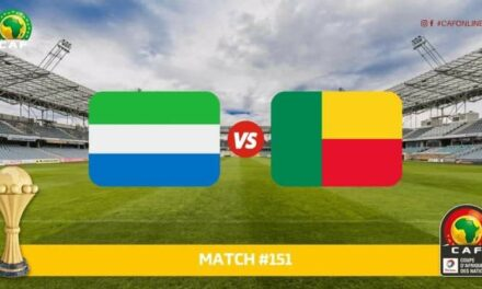 AFCON: All zone 2 teams have qualified, awaiting Sierra Leone