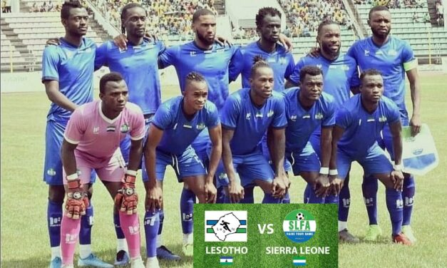 Sierra Leone embark on long trip to destiny