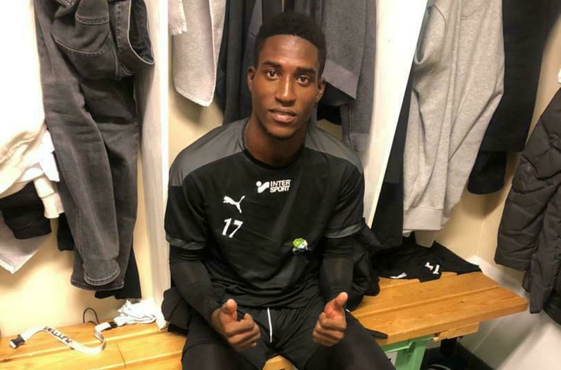 Murana Conteh scores first professional goal in Sweden forLjungskile SK