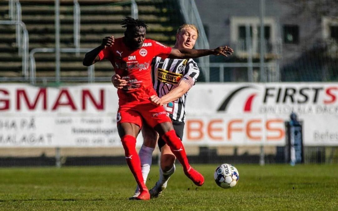 Alhassan Kamara makes debut inIFK Värnamo'sdefeat