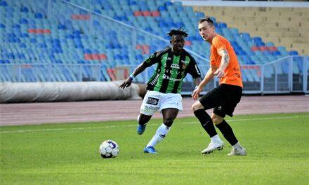 GAIS Superettan first goal for attacker Michael Kargbo