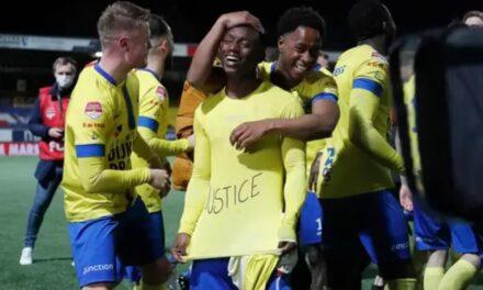 Issa Kallon nets as Cambuur on verge of Dutch Eredivisie promotion