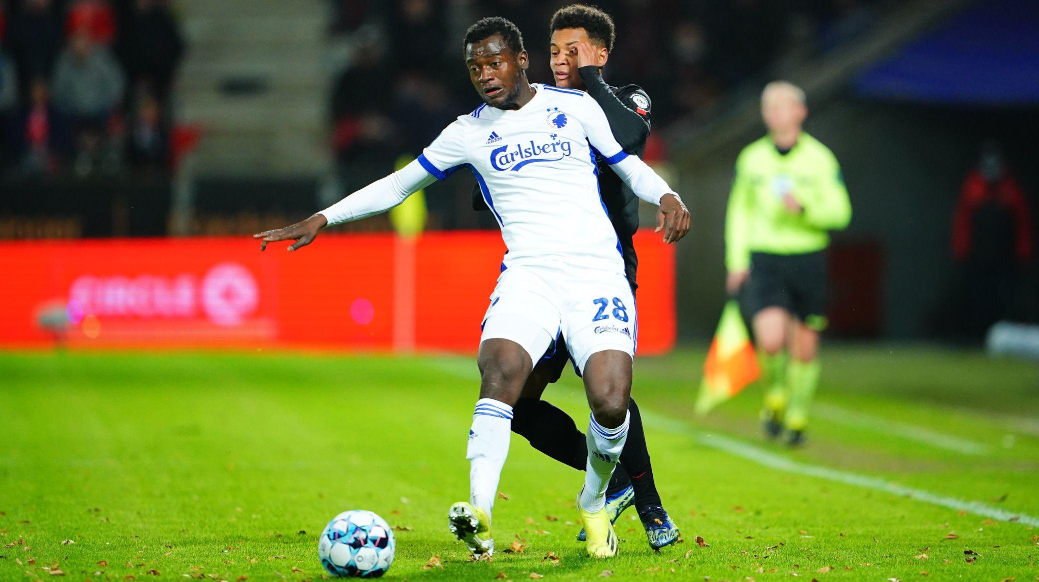 Attacker Bundu ends goal drought in defeat to Midtjylland