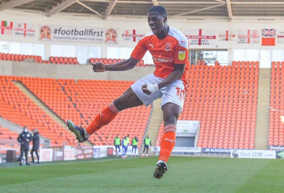 Sullay Kaikai nets as Blackpool cement playoff place