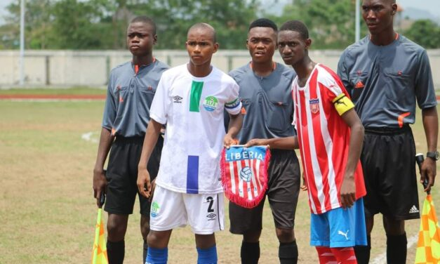 Sierra Leone U15s draw 1-1 with Liberia in MRU tourney