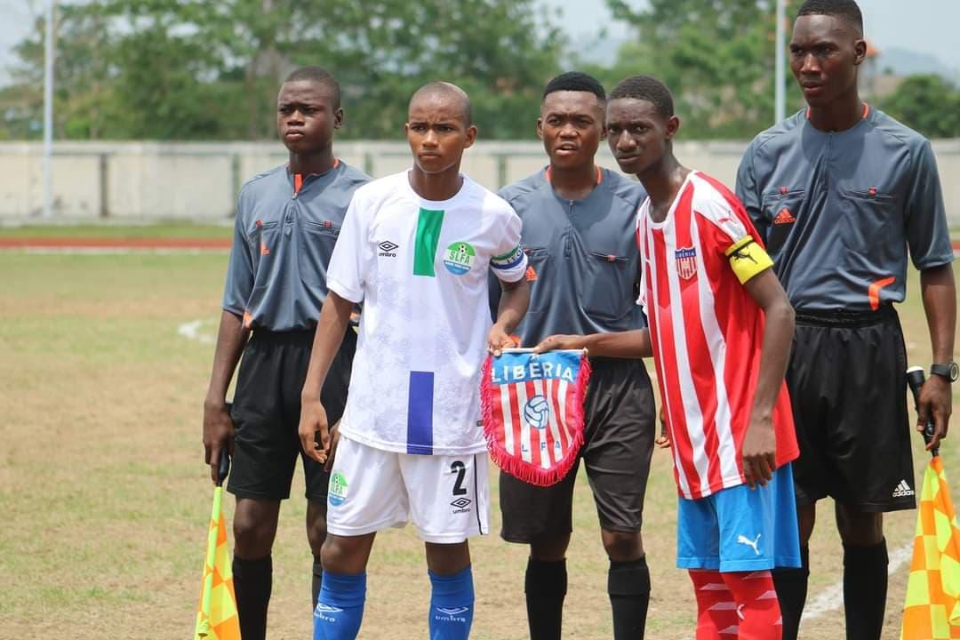 Sierra Leone U15s draw 1-1 with Liberia in MRU tourney