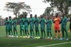 Sierra Leone first team against Liberia on Wednesday