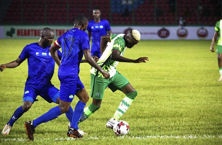 AFCONQ: Sierra Leone played to a 4-4 draw against Nigeria