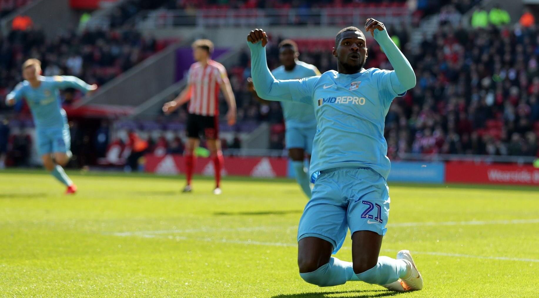 Striker Amadou Bakayoko confirms Coventry City's exit