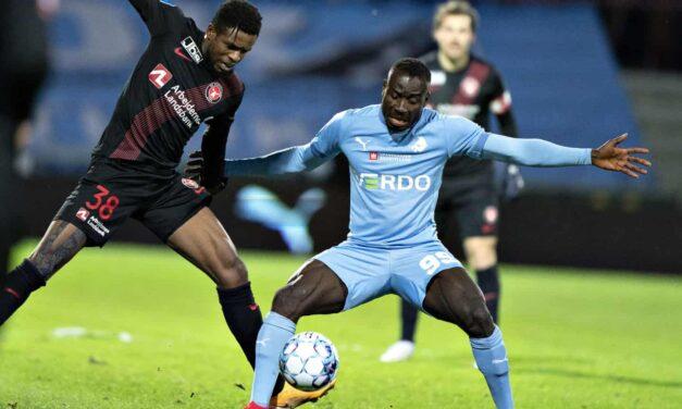 Striker Alhaji Kamara ruled out of Randers Cup final