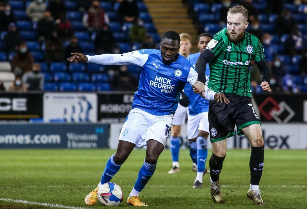 Kanu: Peterborough the right place for Championship football