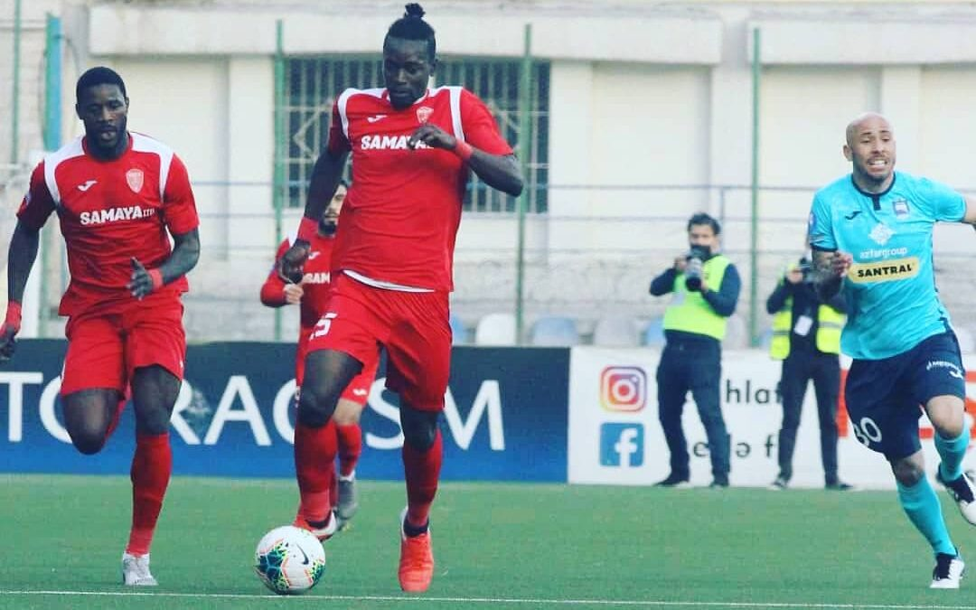 John Kamara reveals Azerbaijan Cup final excitement