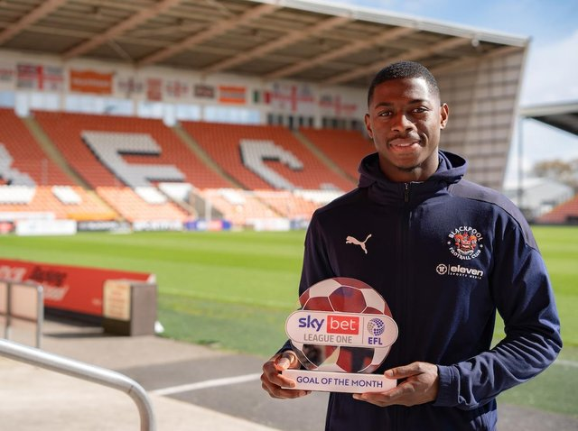 Sullay Kaikai delighted with April Goal of the Month award