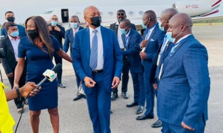 CAF President ends successful visit to Liberia and Sierra Leone