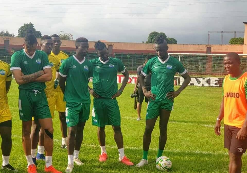 Sierra Leone wrap up first training session in Guinea
