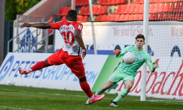 Abu Bakarr Kargbo nets first goal since return from injury
