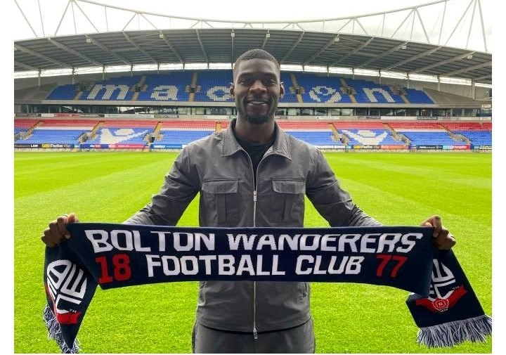 Amadou Bakayoko has signed for Bolton Wanderers