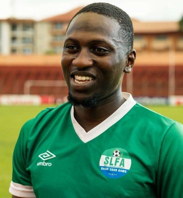 Idris Kanu enjoys a bittersweet moment with Sierra Leone