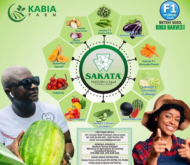 Kabia Farm exclusive Sierra Leone