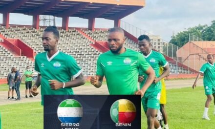 Sierra Leone coach Keister hopeful ahead of Benin decisive contest
