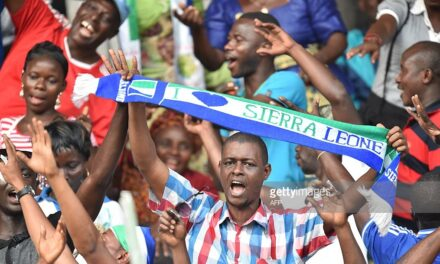 Afcon qualification victory parade for Leone Stars
