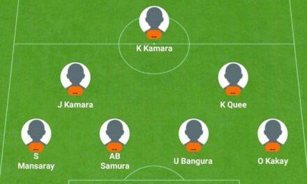 Debut for LA Galaxy striker Augustine Williams & Saidu Mansaray