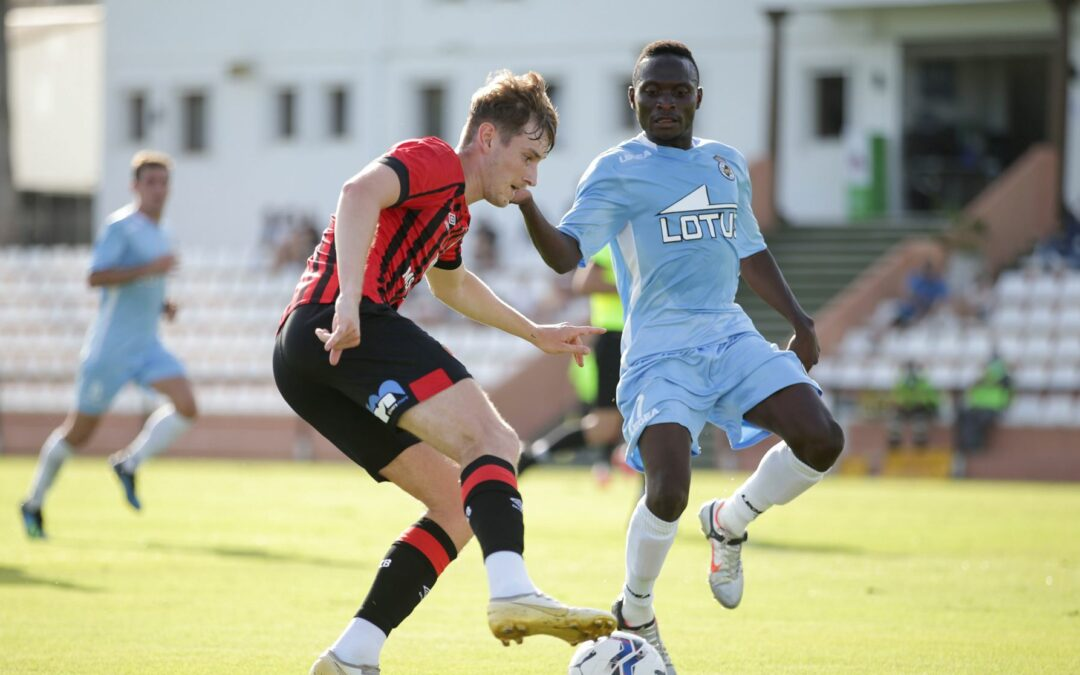 Alusine Koroma nets in Linense pre-season defeat to Bournemouth