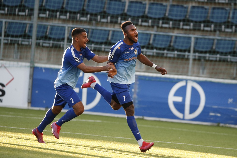 Debut goal for Christian Moses