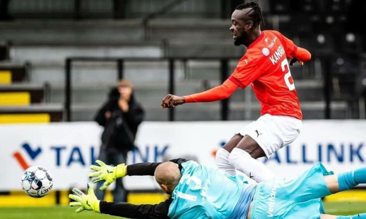 Kei Kamara scored a brace for Finnish club HIFK.