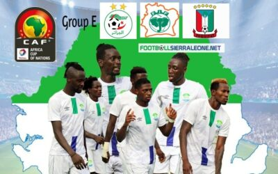 Sierra  Leone to open Afcon against defending Champions Algeria