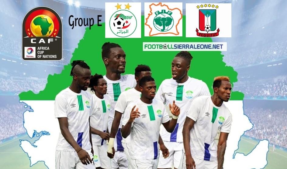 Sierra Leone AFCON Group E