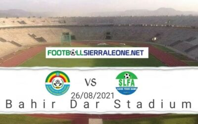 Sierra Leone launch Afcon campaign with Ethiopia friendly