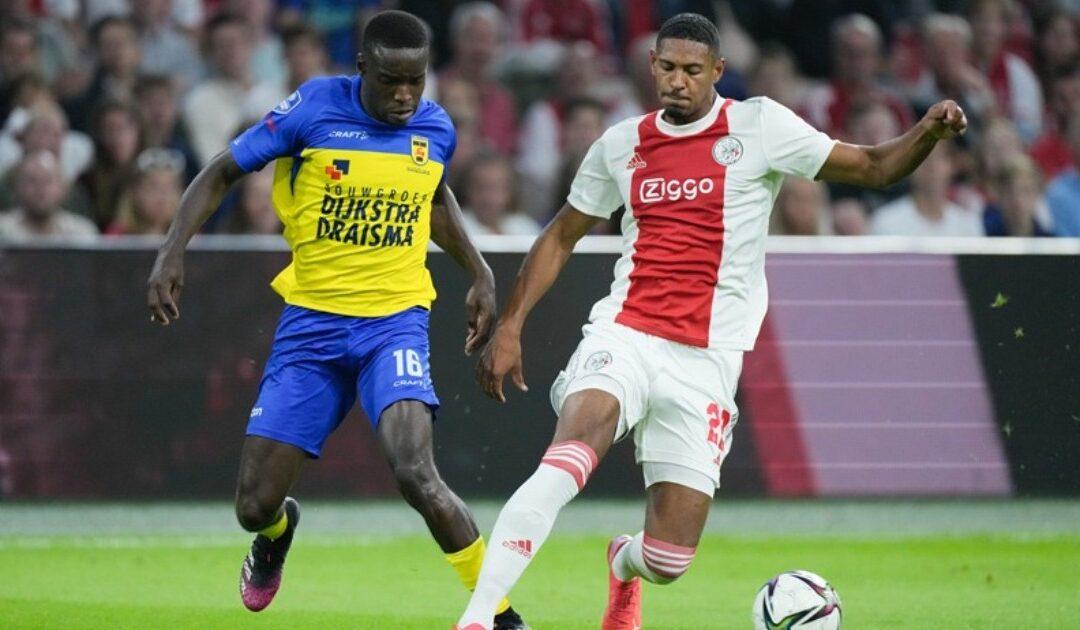 Ajax thrash Kallon's Cambuur, Daramy and Haller on score sheet