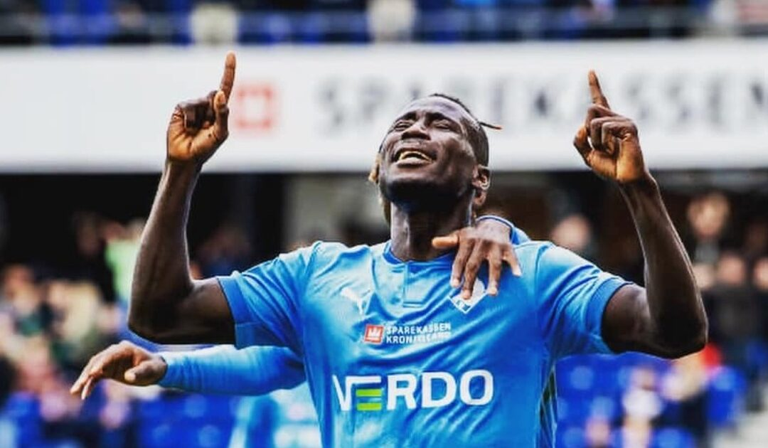 Alhaji Kamara dedicates goal to his late elder brother