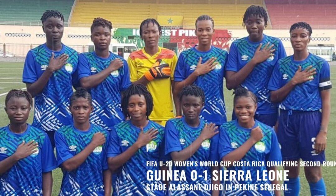 Sierra Leone edge Guinea in U20 Women's qualifier in Senegal