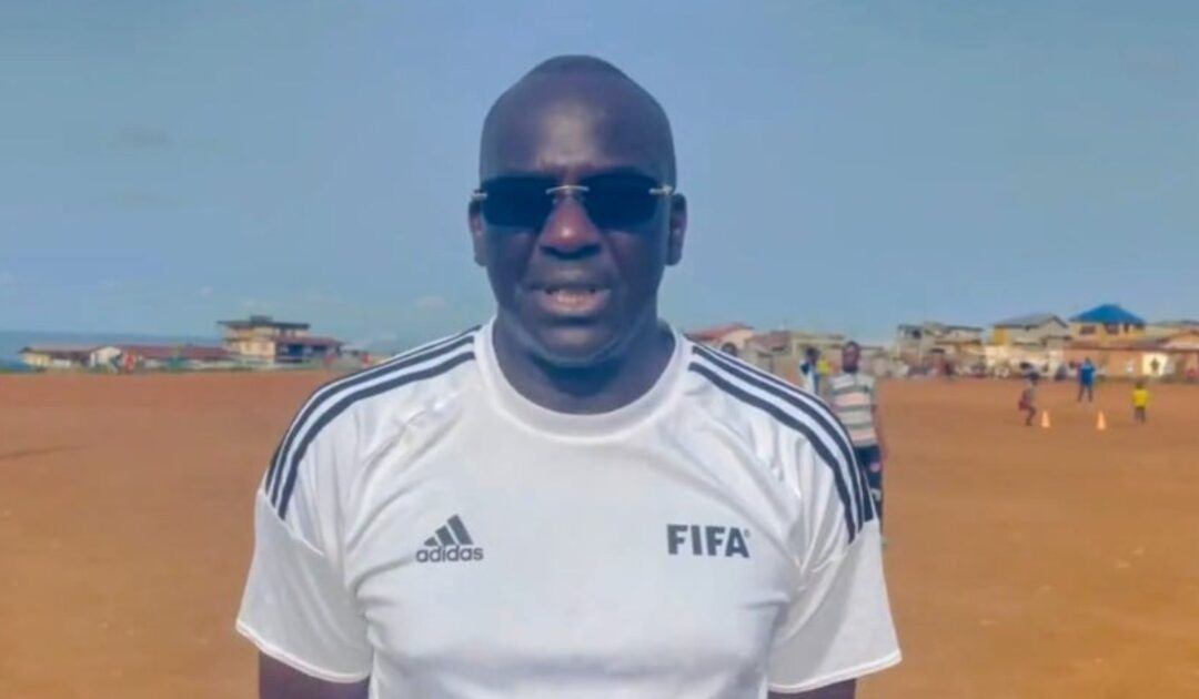 FIFA Development Manager for West and Central Africa, El Hadji Wack Diop Inspected Approved School in Sierra Leone on Thursday