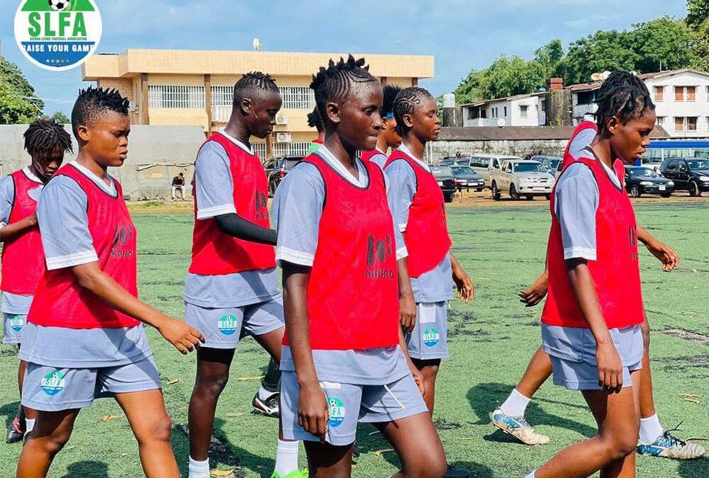 Sierra Leone U-20 Women's team in preparation