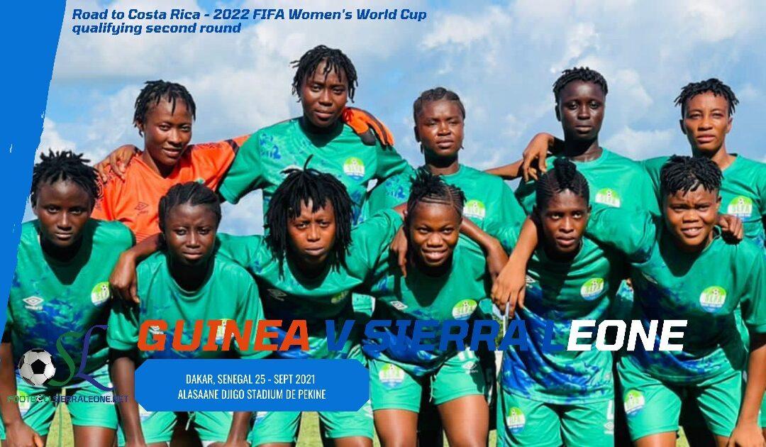 Sierra Leone set for Guinea in Women's U20 showdown.