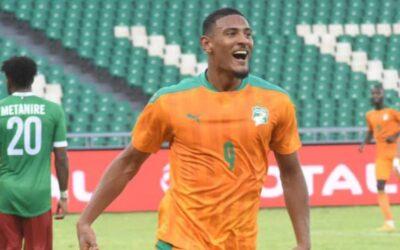 Ajax's Haller hits brace for Ivory Coast, Sherman nets in Liberia win