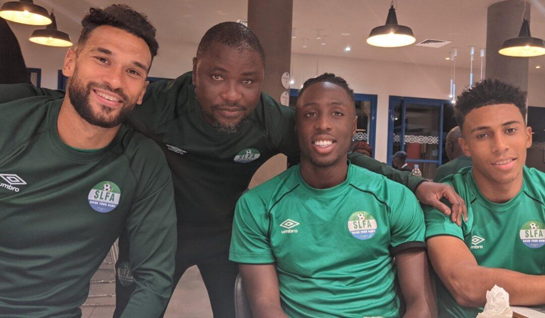 Steven Caulker, Kamara, Issa Kallon boost Sierra Leone camp in Morocco